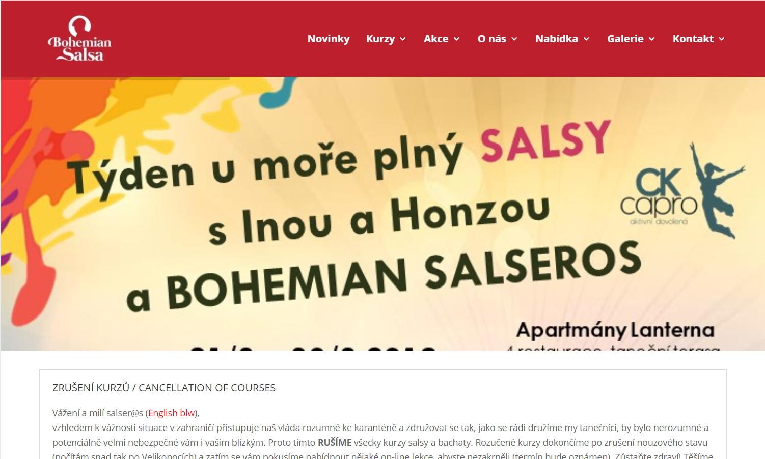 Bohemian salsa